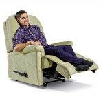 KESWICK Royale Powered Recliner Cover - Fabric 1