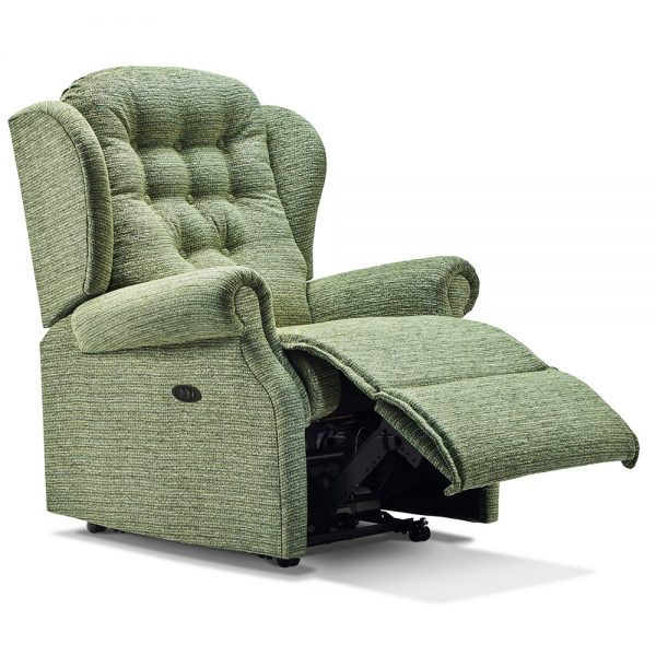 LYNTON Powered Small Recliner Cover - Fabric 1