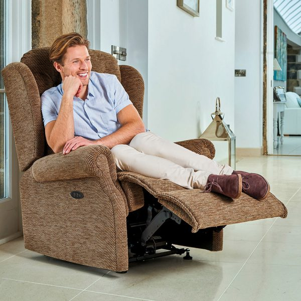 LYNTON Royale Powered Recliner Cover - Fabric 1