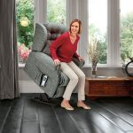 LYNTON Small 2-motor Electric Riser Recliner Cover - Fabric 1