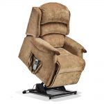 MALHAM Small 1-motor Electric Riser Recliner Cover - Fabric 2a