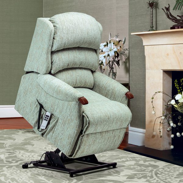 MALHAM Standard 2-motor Electric Riser Recliner Cover - Fabric 1