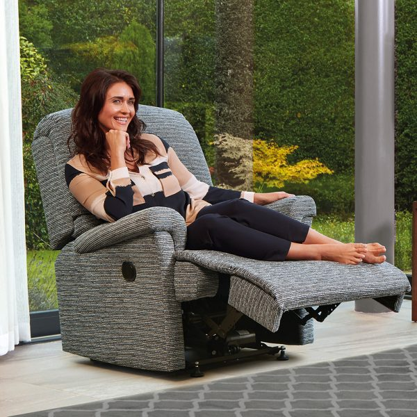 NEVADA Small Powered Recliner Cover - Fabric 1