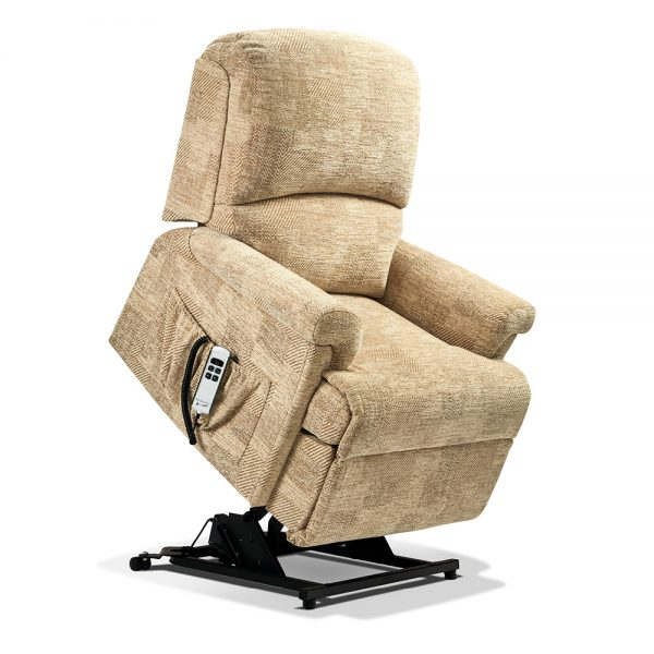 NEVADA Small 2-motor Electric Riser Recliner Cover - Fabric 1