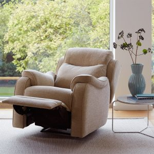 BOSTON Armchair Manual Recliner with latch  Fabric Options - Grade A