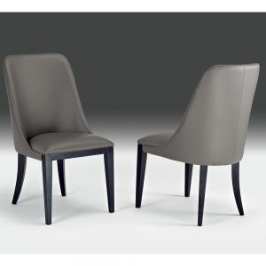 Stone International Leather Dining Chair
