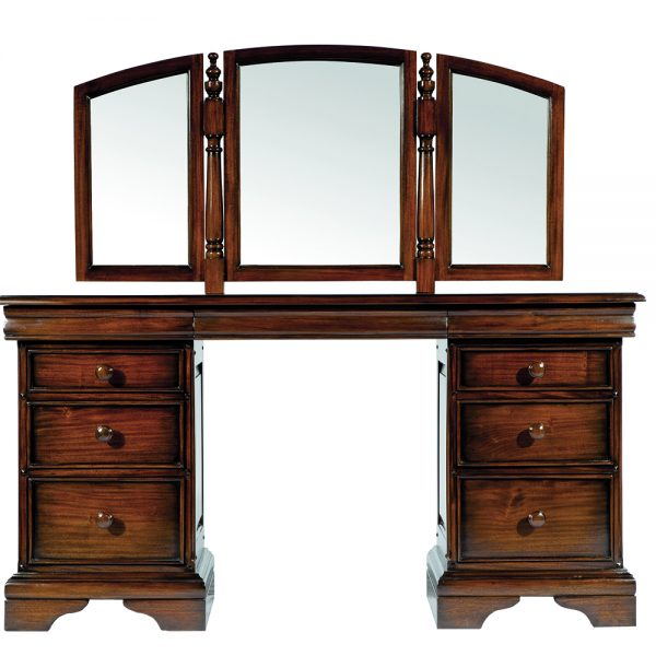 Normandie Dressing Table with Mirror