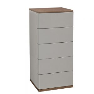 Panache 5 Drawer Tall Narrow Chest