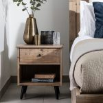 Valetta 1 Drawer Bedside