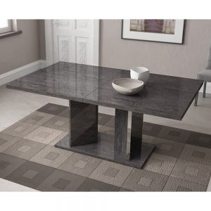 Bianca Dining Table - Openable Table without Extension
