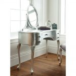 Rococo Dressing Table - Antique Silver Leaf