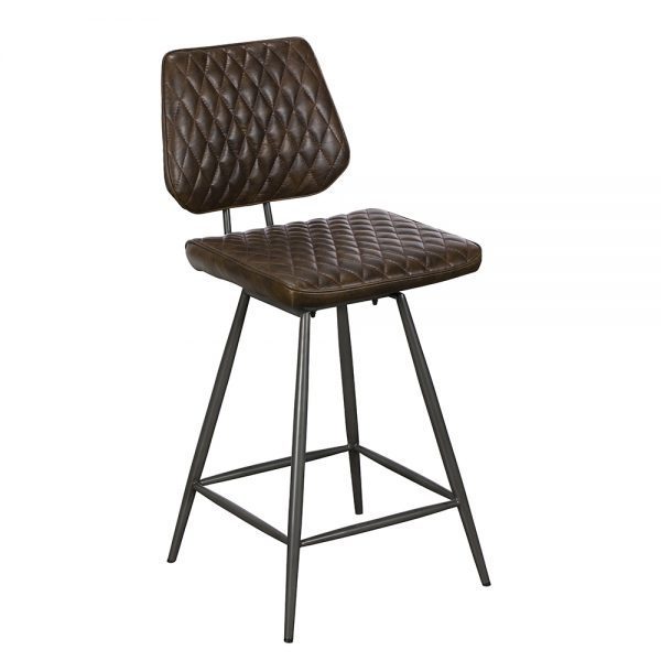 Dalton Counter Chair - Dark Brown