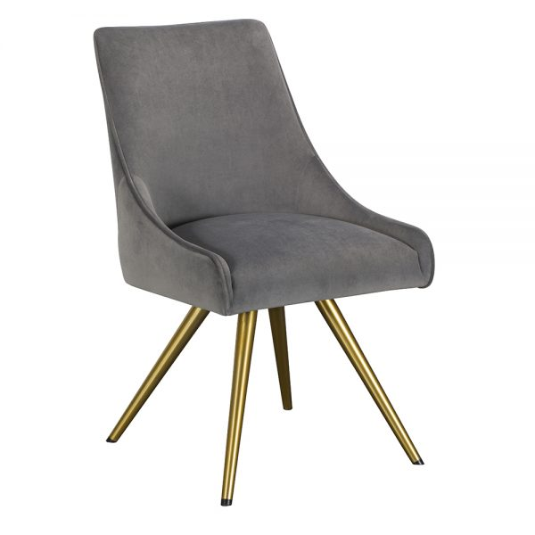 Amy Dining Chair - Grey