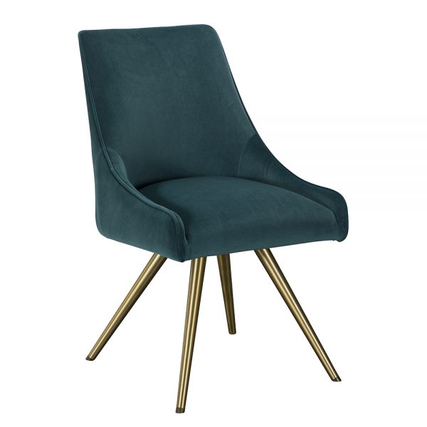 Amy Dining Chair -Teal