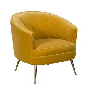 Mariah Occasional Chair - Yellow