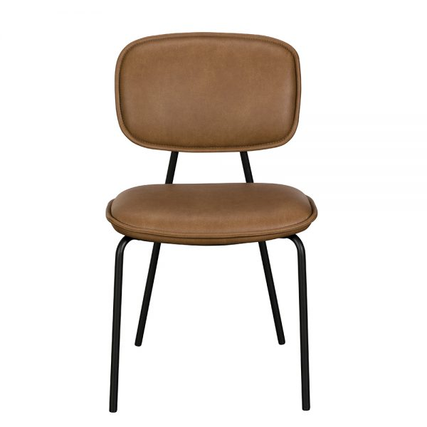 Olivia Dining Chair - Brown