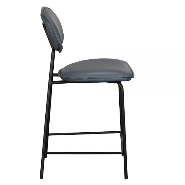 Olivia Bar Chair - Blue