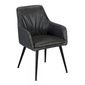 Oliver Arm Chair - Grey