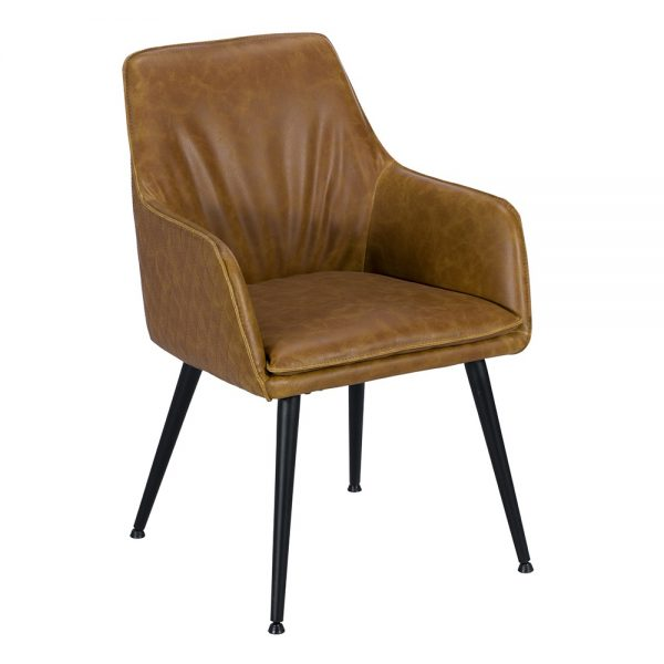 Oliver Arm Chair - Tan