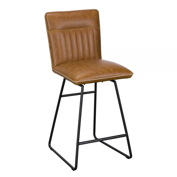Cooper Counter Chair - Tan