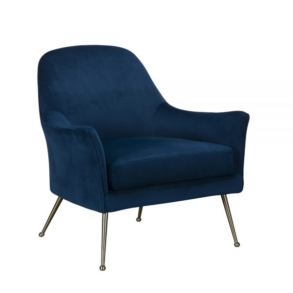 Wilson Occasional Chair - Blue
