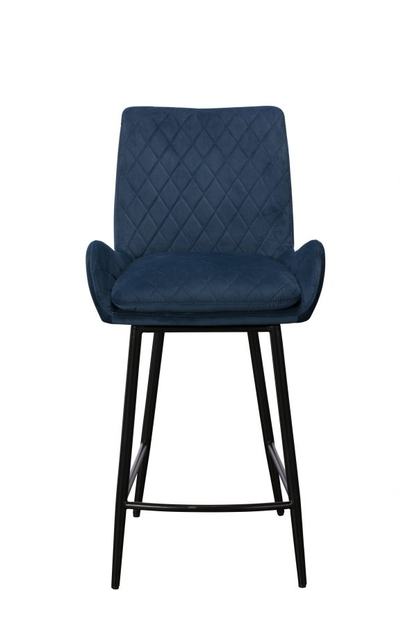 Sarah Counter Chair - Blue