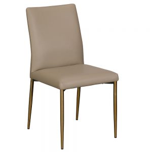 Annable Dining Chair - Taupe PU