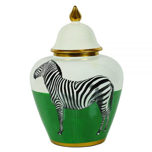 Zebra Jar Small