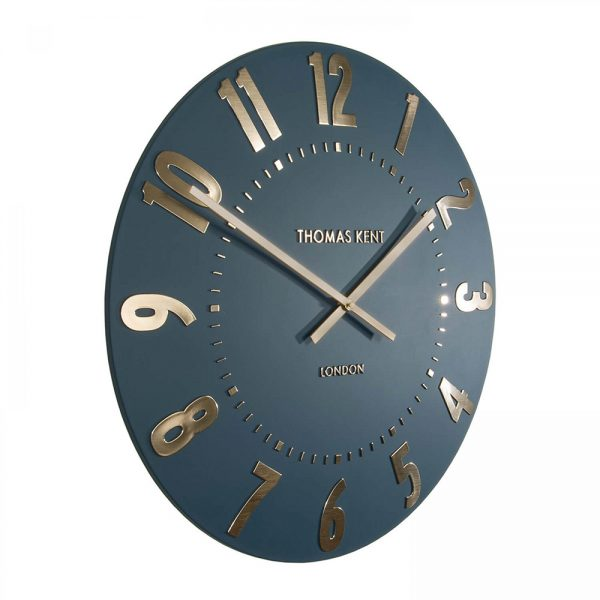 "20"" Mulberry Wall Clock Midnight Blue"