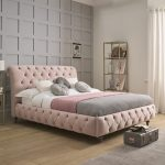 TRUFFLE King Low End Bedstead Fabric A