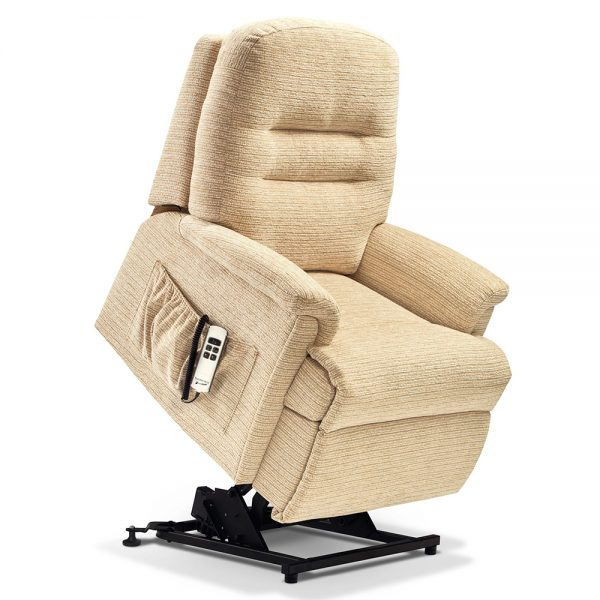 KESWICK Petite 2-motor Electric Riser Recliner Cover - Fabric 1