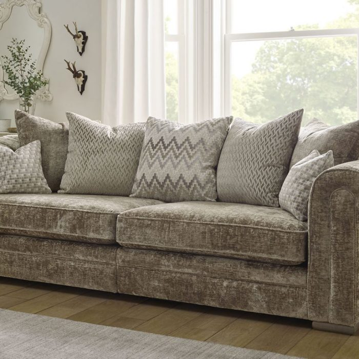 titan large fabric sofa