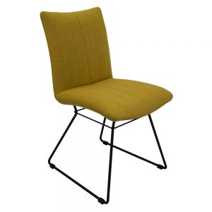 Aura Dining Chairs - Saffron - Pair
