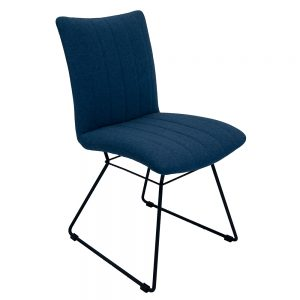 Aura Dining Chairs - Mineral Blue Pair