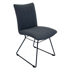 Aura Dining Chairs - Shadow Grey Pair