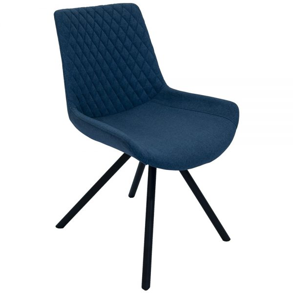 Sigma Dining Chairs - Mineral Blue Pair