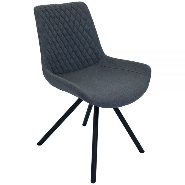 Sigma Dining Chairs - Shadow Grey Pair