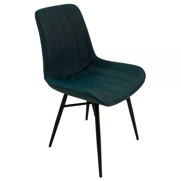 Croft Dining Chairs - Vintage Blue Pair