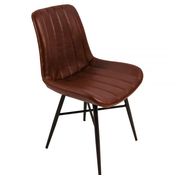 Croft Dining Chairs - Vintage Coffee
