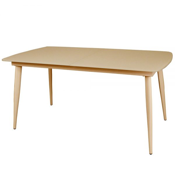 Riva Small Extending Dining Table - Cappucino