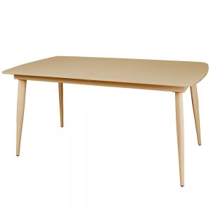 Riva Large Extending Dining Table - Cappucino