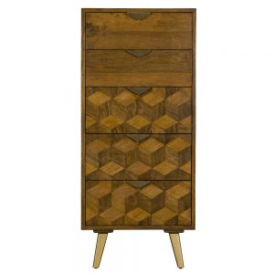 Boxer 5 Drawer Tall Chest