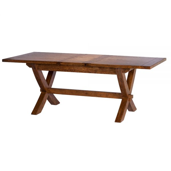 Mango Creek 170cm-210cm Extending X Leg Dining Table