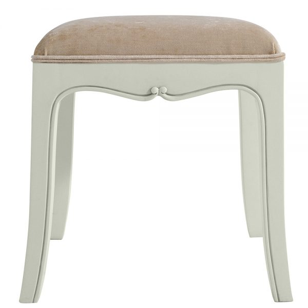 Classic Dressing Table Stool - Cloud