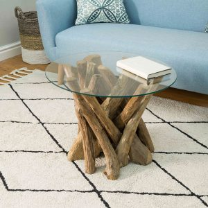 Branchwood Round Lamp Table