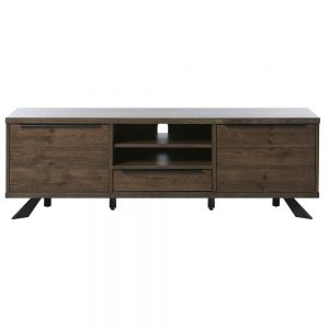 Maple TV Lowboard Entertainment Unit