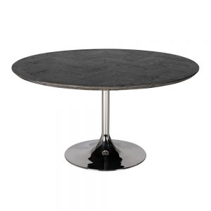 Blackbone Round Dining Table 140cm