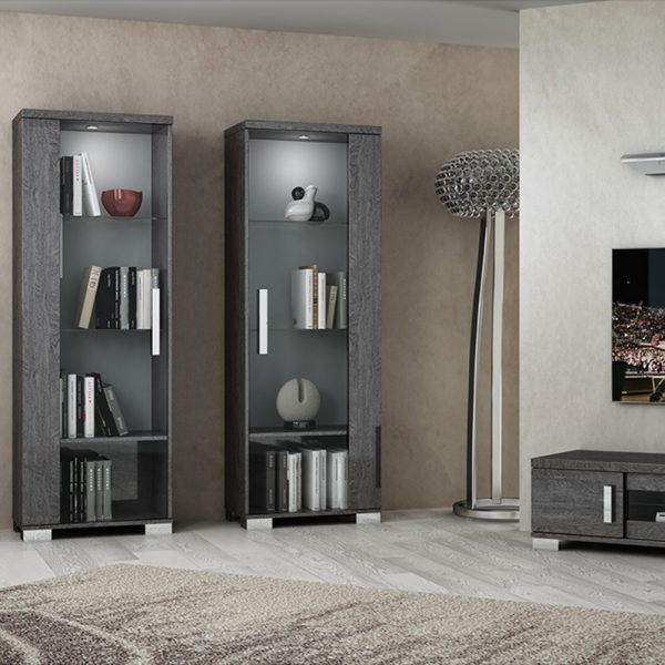 Bianca 1 Door Display Cabinet