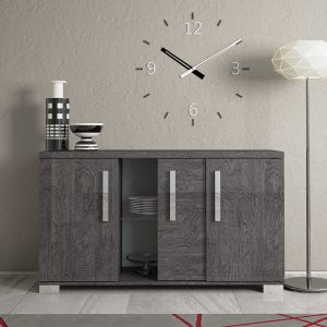 Bianca 3 Door Sideboard with Central Sliding Door