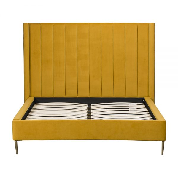 High Bedstead Super King - Turmeric
